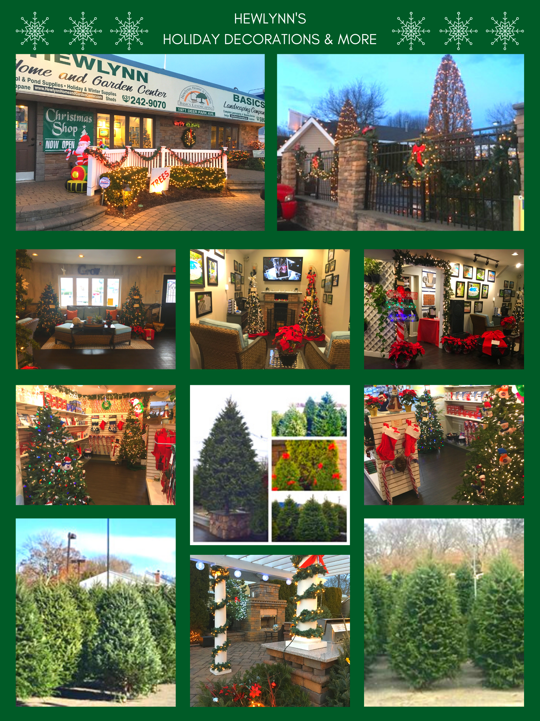HEWLYNN'S HOLIDAY DECORATIONS & MORE