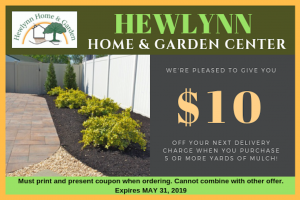 HEWLYNN HOME & GARDEN CENTER coupon