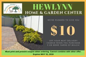HEWLYNN HOME & GARDEN CENTER coupon