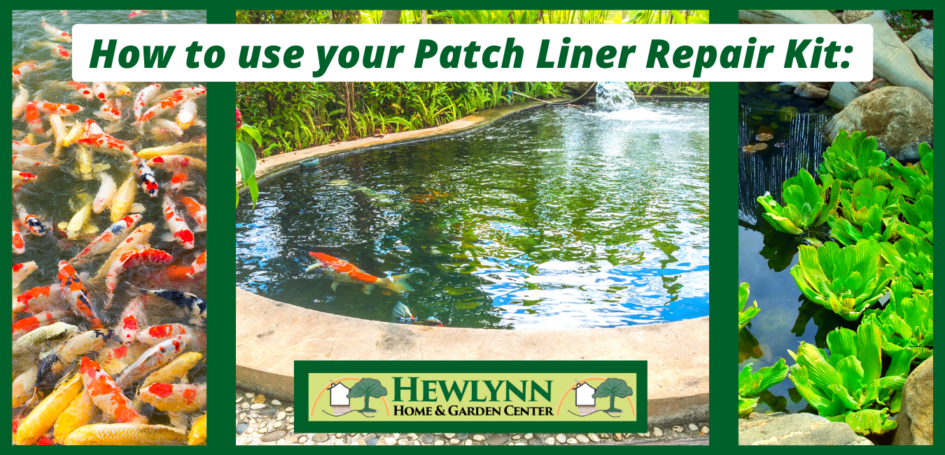 How to use your Patch Liner Repair Kit: