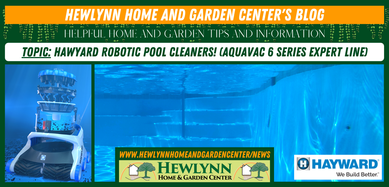 Read more about the article Hawyard Robotic Pool Cleaners! (AquaVac 6 Series Expert Line)