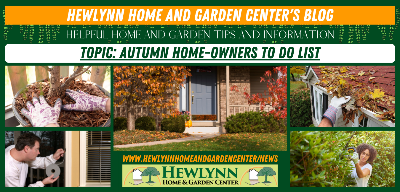Read more about the article Autumn Home-Owners To Do List